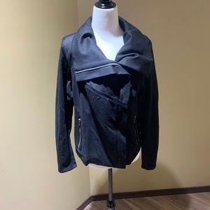 NWOT BlankNYC asymmetrical moto jacket